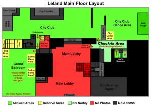 Layout Main Floor